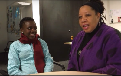 Dazon Dixon Diallo Talks with Loyce Maturu of Y+ Zimbabwe about Young People & HIV