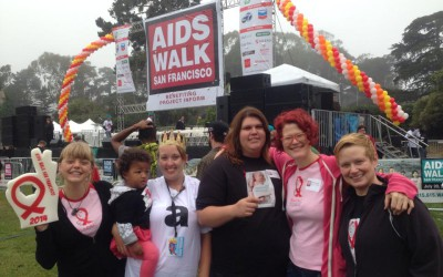 AIDS Walk 2014: Team Positively Negative/BAPAC