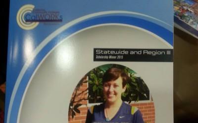 CalWORKS State & Regional Scholarship Winner