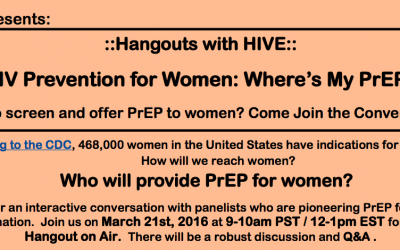 HIV Prevention for Women: Where's My PrEP?